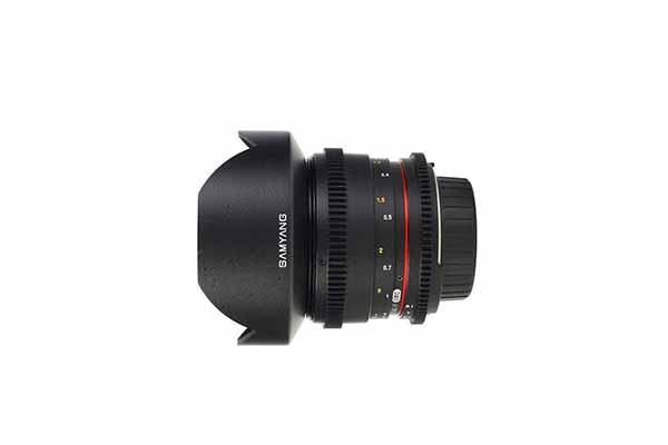 Samyang 14mm T3.1 | EF mount | £15 + VAT per day