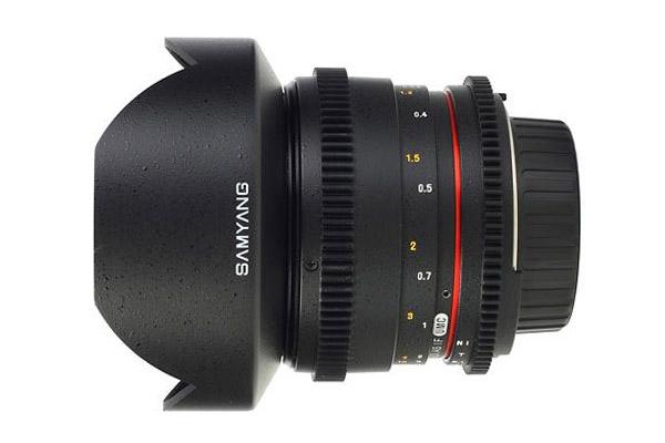 Samyang 14mm T3.1 | EF mount | £15 per day