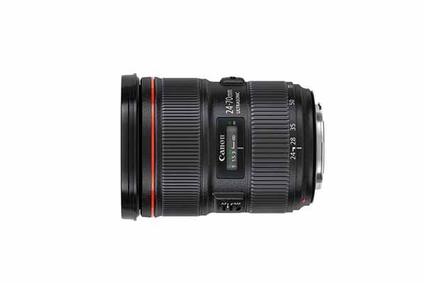 Canon EF 24-70mm f/2.8L II USM | £35 + VAT per day