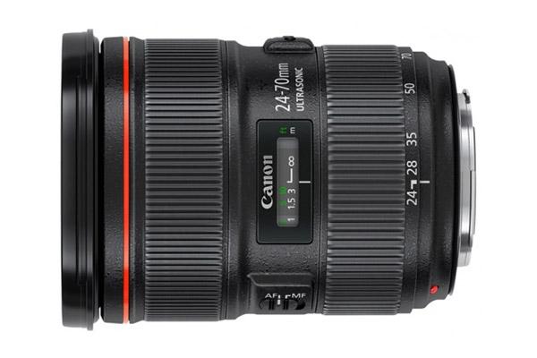 Canon EF 24-70mm f/2.8L II USM | £35 per day