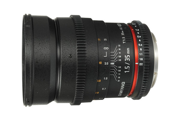 Samyang 35mm T1.5 | EF mount | £15 per day