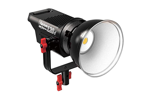 Aputure 120D | 5600K LED | 0-100% dimmable | Mains or V-Lock powered | Bowens mount | £40 + VAT per day
