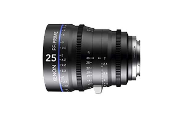 Schneider Xenon FF 25mm T2.1 Cine Prime | £50 + VAT a day