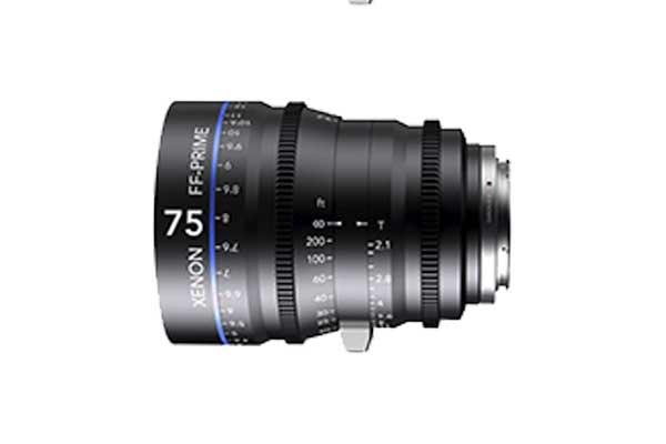 Schneider Xenon FF 75mm T2.1 Cine Prime | £50 + VAT a day