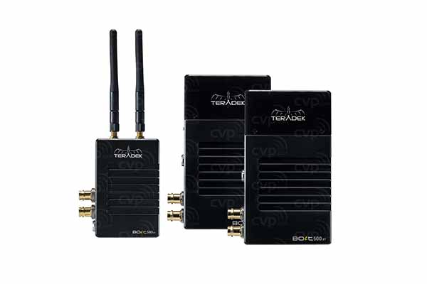 Teradek BOLT 500 HD-SDI Transmitter / 2x Receivers | £110 + VAT per day