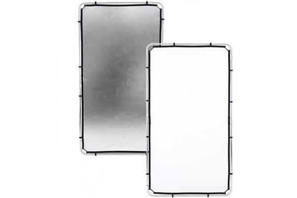 Calumet 3x6ft Collapsible Aluminium Frame | Silver/White/Black/Diffusion textile | £20 + VAT per day