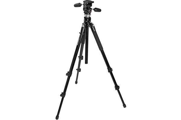 Manfrotto 055 XPROB Photography Tripod | 3-way head | £15 + VAT per day
