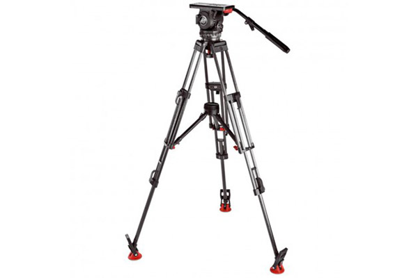 Sachter DV12 Tripod | 12kg max load | 5 speed head | Carbon Fibre tripod| £30 + VAT per day