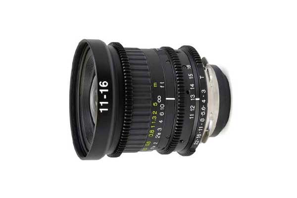 Tokina 11-16mm T3 Cinema | PL mount | £45+VAT per day