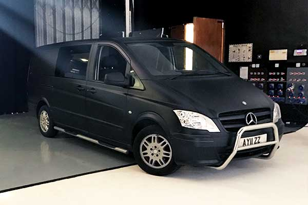 Mercedes Vito CUSTOM | 4 seats | Fits ALL Available Equipment | £100 + VAT per day + £0.45 + VAT per mile